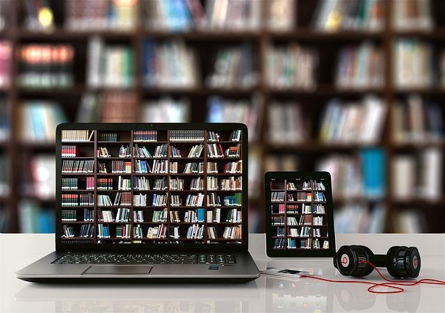 platforma edukacyjna - biblioteka