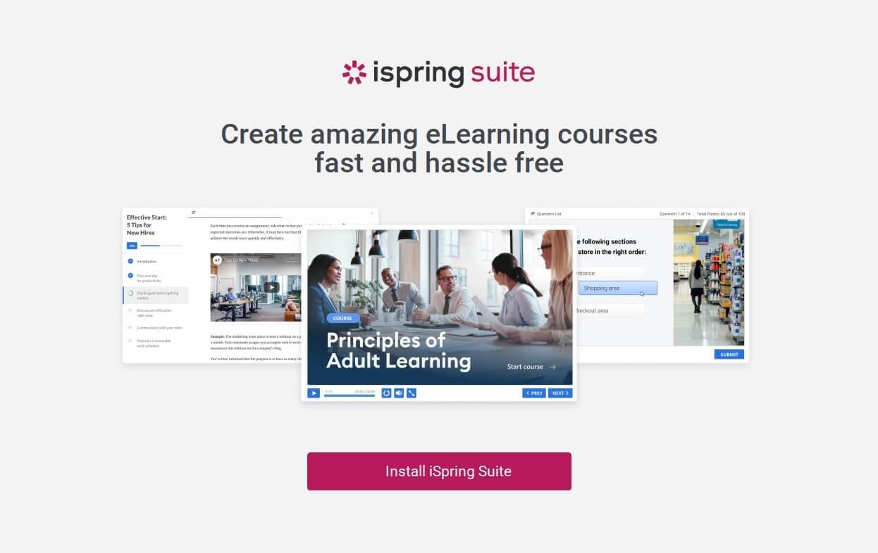 program iSpring Suite